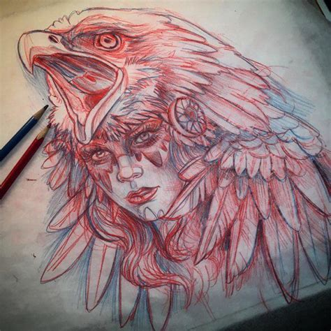 derek wolfe tattoo works by artists derek turcotte женский лик