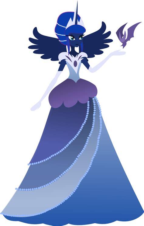 Dress Lunna gala dress humanized by senwyn1 on deviantart