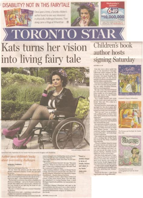 toronto star life section front page cover story of canada s largest newspaper life