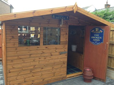 Pub Shed by Wooden Summer Houses Free Fitting Delivery