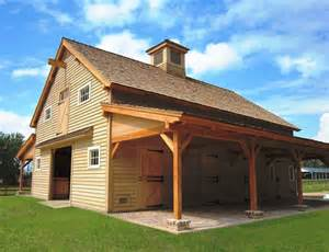 Barn Plans Designs by Carolina Horse Barn Handcrafted Timber Stable