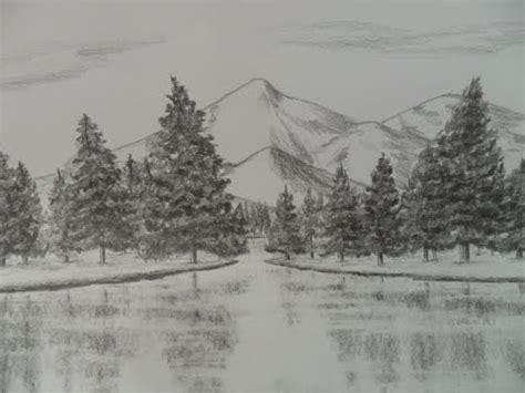 imagenes para dibujar a lapiz de paisajes c 243 mo dibujar monta 241 as a l 225 piz paso a paso c 243 mo aprender a