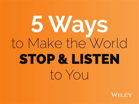 stop look and listen a toolbox for creating healthy boundaries books 5 ways to make the world stop listen to you