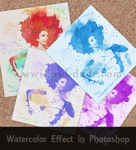 watercolor tutorial photoshop cs5 create a watercolor effect in photoshop photoshop