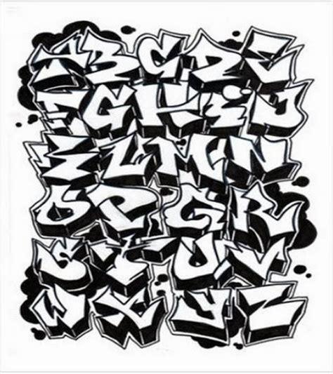 graffitie  graffiti alphabet