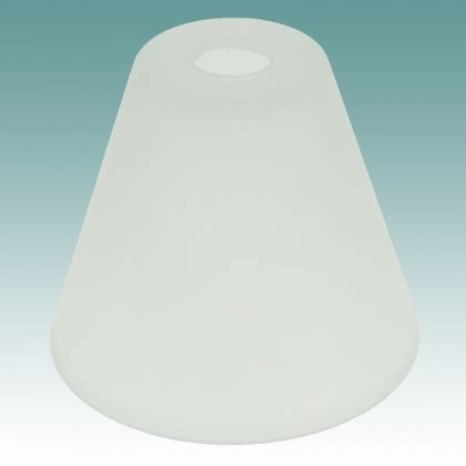 7803 frosted neckless shade glass lshades