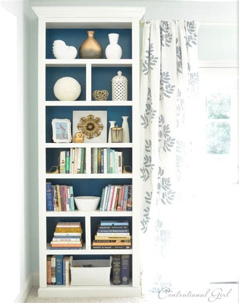 Diy Easy Modified Ikea Billy Bookcases To Give High End High End Bookshelves