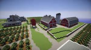 build a farmhouse farm house and red barns minecraft building inc