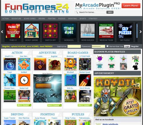 How To Create Flash Game Website For Passive Income Arcade Website Template
