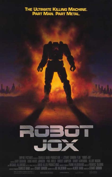 film robot jox robot jox movie posters from movie poster shop