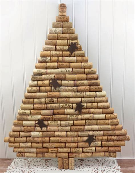 tappeto con tappi di sughero 20 alberi di natale con tappi di sughero pianetabambini it