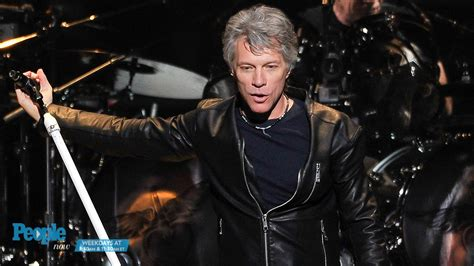 Jon Bon Jovi Rocks For Housing by Jon Bon Jovi Reacts To Rock And Roll Of Fame