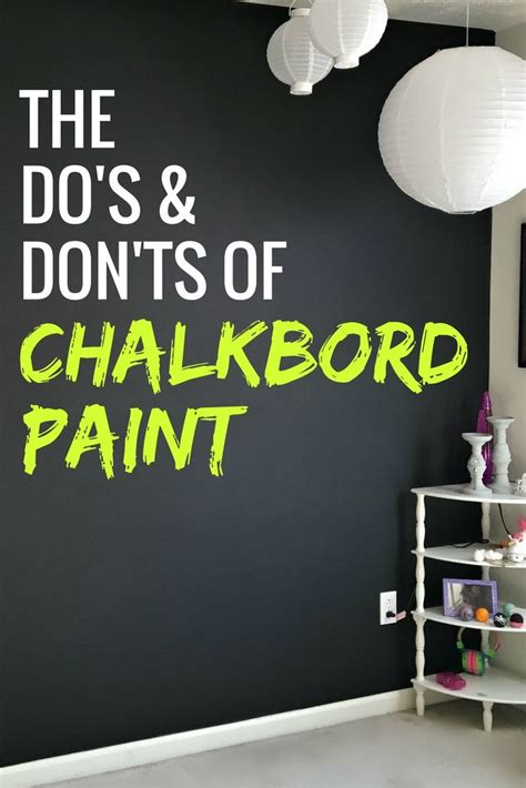 chalkboard paint wall do s and don ts of chalkboard paint to make a design