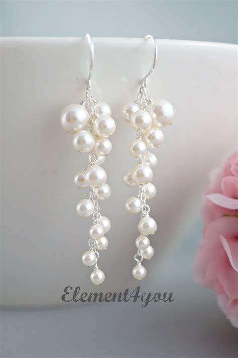 Perlenohrringe Hochzeitsschmuck by 1000 Ideen Zu Perlen Ohrringe Auf