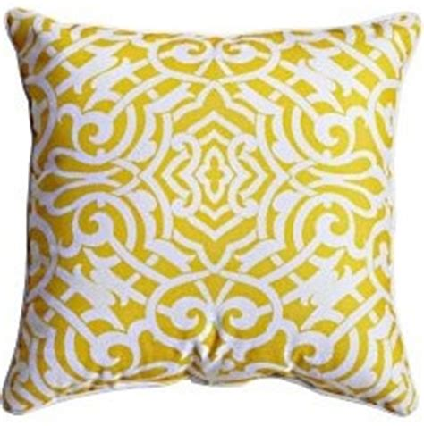 pavilion pillow yellow outdoor cushions