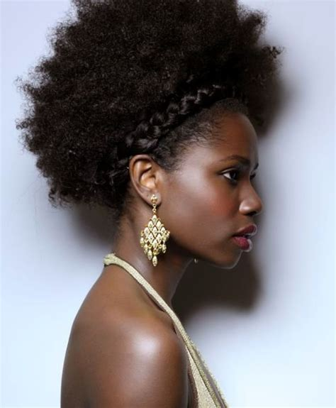 Crown Braids Afro | 25 afros and blow outs for black hair styles weekly