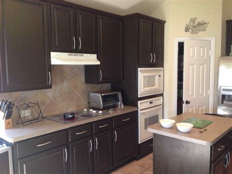best cabinet stain brand espresso stained oak cabinets deductour com