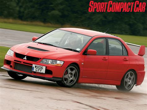 mitsubishi evolution stock pictures
