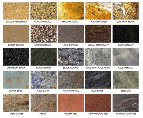 granite color names granite sles and names granite sles