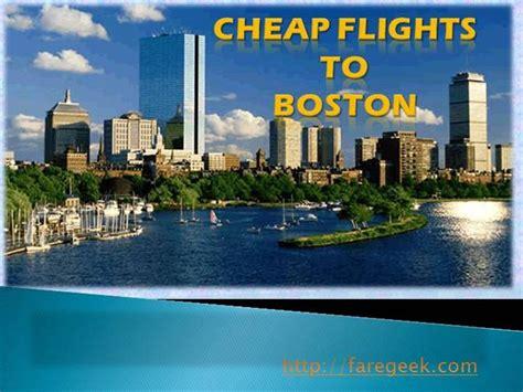 how to book cheap flights to boston authorstream