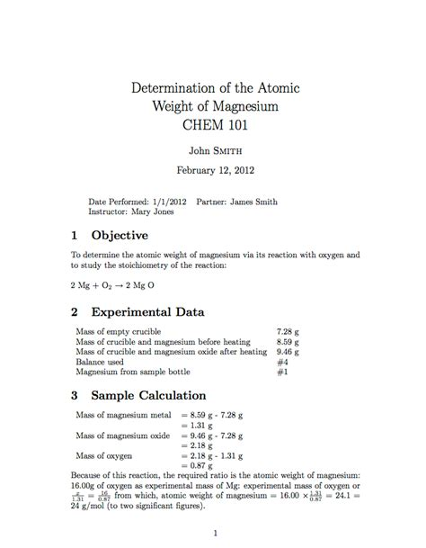 28 latex lab report template template latex http