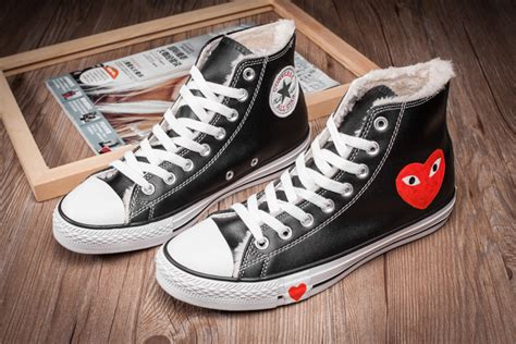 Converse X Cdg Play Ct 70 High Black all winter converse comme des garcons play black ct