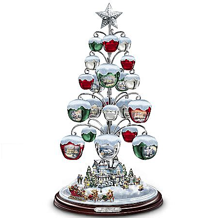 thomas kinkade christmas tree ornaments