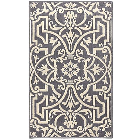 bed bath and beyond westwood westwood accent rug in grey bed bath beyond
