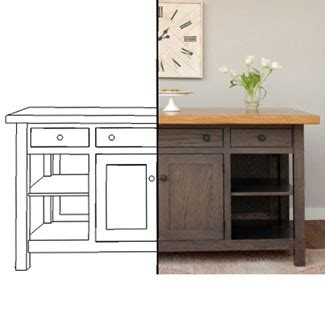 kitchen islands design your own kitchen island custom
