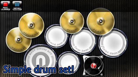 best drum tutorial app best drum kit music percussion android apps on google play