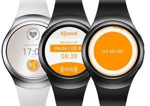 Carita S2 caritas und samsung machen smartwatch zum notfallknopf
