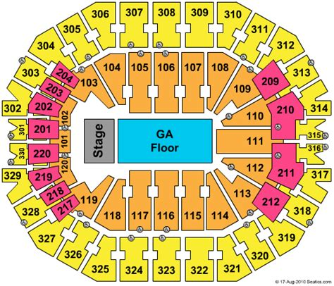 kfc yum center floor plan lady gaga louisville tickets 2016 lady gaga tickets