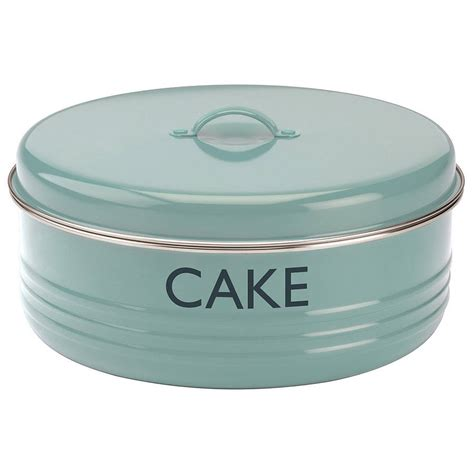 Kitchen Canisters Vintage Blue Cake Tin By Dibor Notonthehighstreet Com