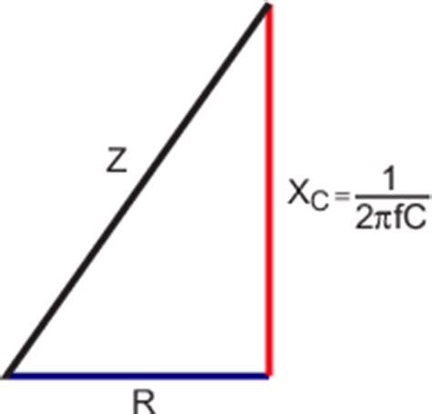 capacitive reactance triangle 2 analog electronics