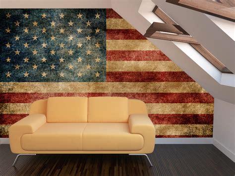 american flag living room vintage american flag wall mural