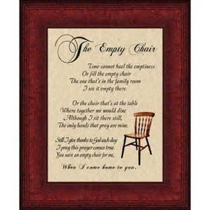 empty chair quotes quotesgram