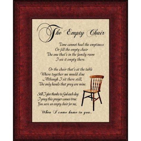 The Empty Chair by Empty Chair Quotes Quotesgram