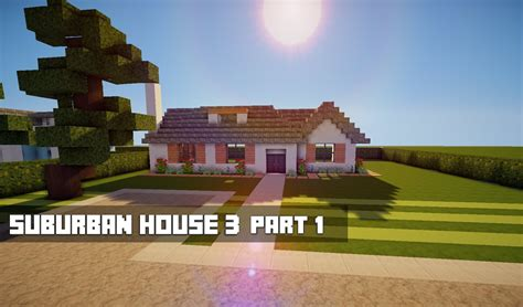 how to make a suburban house in minecraft minecraft lets build suburban house 3 youtube