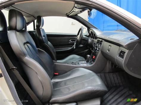 Mercedes Slk 230 Interior 1998 mercedes slk 230 kompressor roadster interior