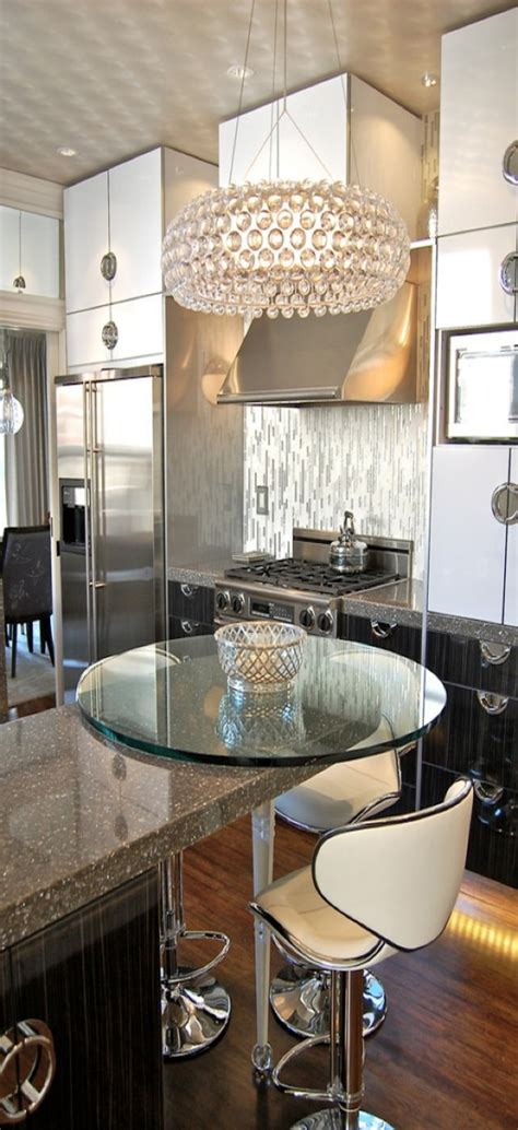 Stunning Kitchens Designs 26 Beautiful Glam Kitchen Design Ideas To Try Digsdigs