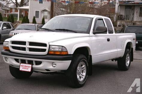 how it works cars 2003 dodge dakota club on board diagnostic system 2003 dodge dakota sport club cab 4x4 4 7l v8 white 127k miles for sale in hagerstown maryland