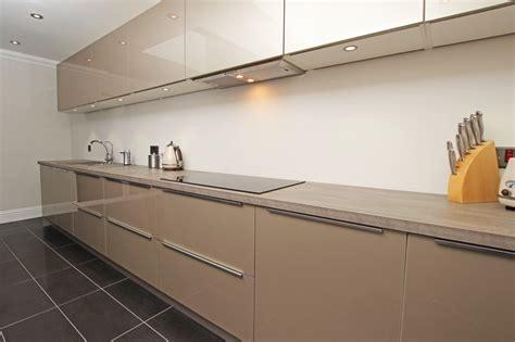 Kitchen Layouts L Shaped With Island High Gloss Champagne Acrylic Kitchens