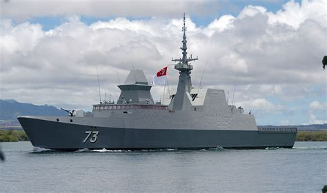 yani glass bottom boat military photos singapore s stealth frigate