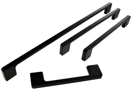 Black Kitchen Cabinet Handles C70 Narangba Black Cabinet Handles Handle House