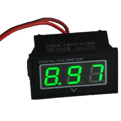 Voltmeter Digital Rizoma Volt Meter Waterproof Slim Min Murah popular 12 volt battery monitor buy cheap 12 volt battery monitor lots from china 12 volt