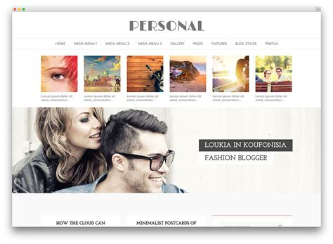 personal blog layout ideas 30 best personal blog wordpress themes 2017 colorlib