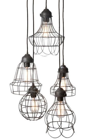 Modern Rustic Pendant Lighting with Numbered Designs Rustic Modern Lighting
