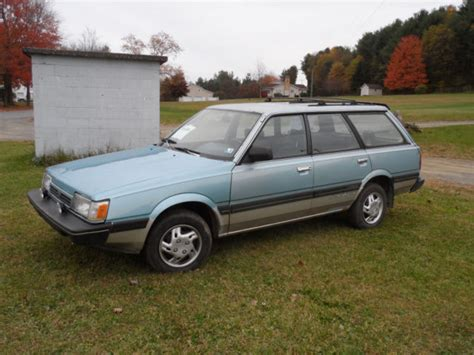 old car owners manuals 1994 subaru loyale navigation system rare 1990 subaru 4wd turbo loyale station wagon fix or parts for sale photos technical