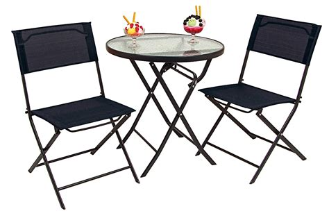 tisch und stühle für balkon bistro set 3tlg balkonset bistroset sitzgruppe