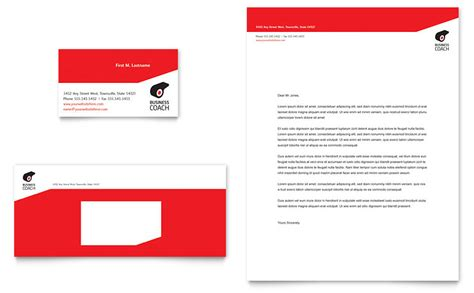 Health Coach Brochure Templates by Business Executive Coach Business Card Letterhead